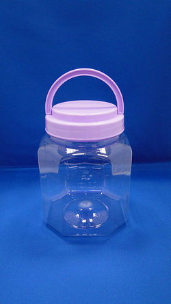 Pleastic Bottle - PET Octagonal Plastic Bottles (D1258)