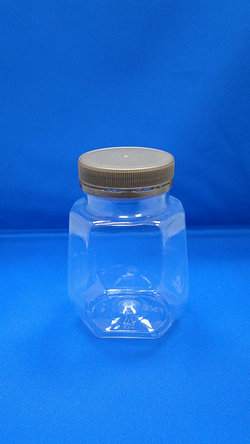 Pleastic Bottle - PET Octagonal Plastic Bottles (F308)