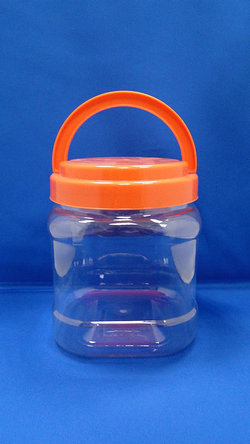 Pleastic Bottle - PET Square and Arc Plastic Bottles (J1504)