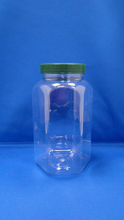 Pleastic Bottle - PET Hexagonal Plastic Bottles (B756)