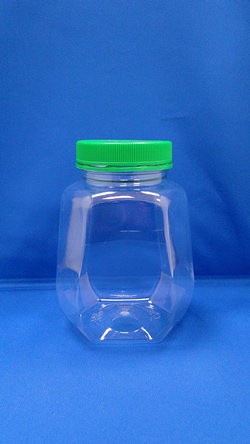 Pleastic Bottle - PET Octagonal Plastic Bottles (B648)