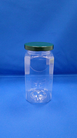 Pleastic Botol - Botol PET Oktagonal Plastik (WM438)