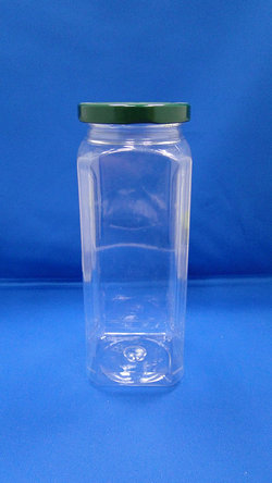 Pleastic Botol - Botol PET Oktagonal Plastik (WM588)