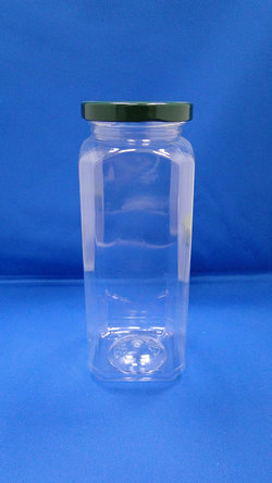 Pleastic Botol - Botol PET Oktagonal Plastik (WM658)