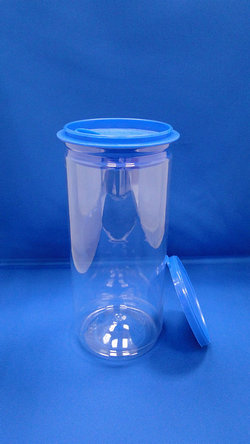 Pleastic Fles - PET ronde plastic flessen (307-900P)