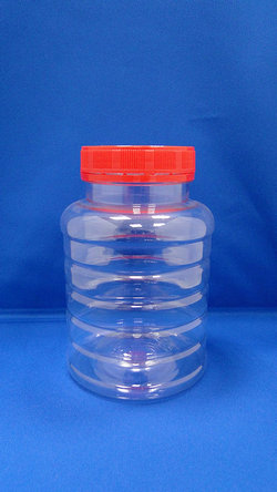 Botol Pleastic - Botol Plastik Bulat PET (B604)