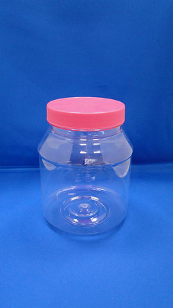 Pleastic Fles - PET ronde plastic flessen (D1200)