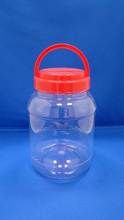 Pleastic Fles - PET ronde plastic flessen (D1450)