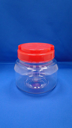 Pleastic Fles - PET ronde plastic flessen (D650)