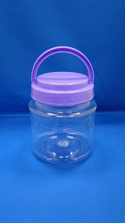 Pleastic Bote - PET Round Plastic Bote (D652)