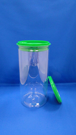Pleastic Bote - PET Round Plastic Bote (W401-1520P)