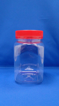 Pleastic Bottle - PET Square Plastic Bottles (B404)