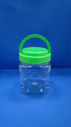 Pleastic Bote - PET Square at Grip Plastic Bottles (D574)
