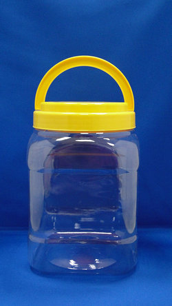 Pleastic Bote - PET Square Plastic Bottles (J1204)