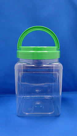 Pleastic Bote - PET Square Plastic Bottles (J2004)
