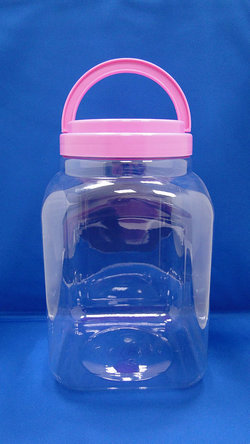 Pleastic Bottle - PET Square and Sharp Plastic Bottles (J3504)