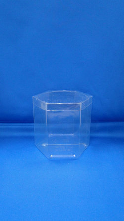 Sticla Pleastic - Sticle PVC hexagonal din plastic (S6)