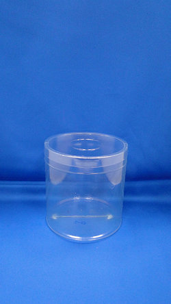 Sticla Pleastic - Sticle PVC plastic rotund (S13)